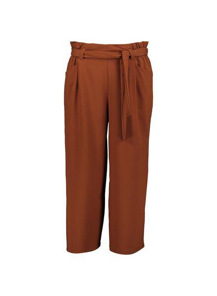 damesculotte bruin bruin - 1000013897 - HEMA