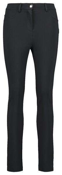 damesbroek zwart XL - 36399614 - HEMA