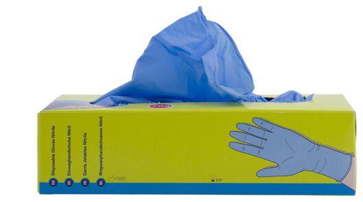 wegwerphandschoenen nitril anti allergie - 50 stuks - 20510121 - HEMA