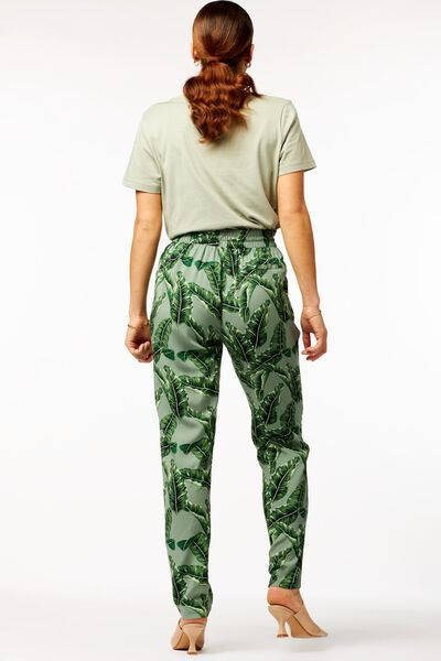 dames t-shirt lichtgroen M - 36320022 - HEMA