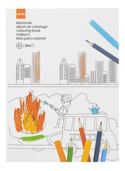 kleurboek - 15910080 - HEMA