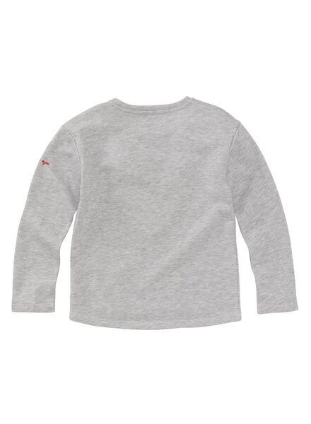 kindersweater grijsmelange grijsmelange - 1000008830 - HEMA