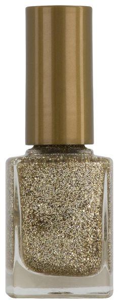 nagellak topcoat golden soul - 11240052 - HEMA