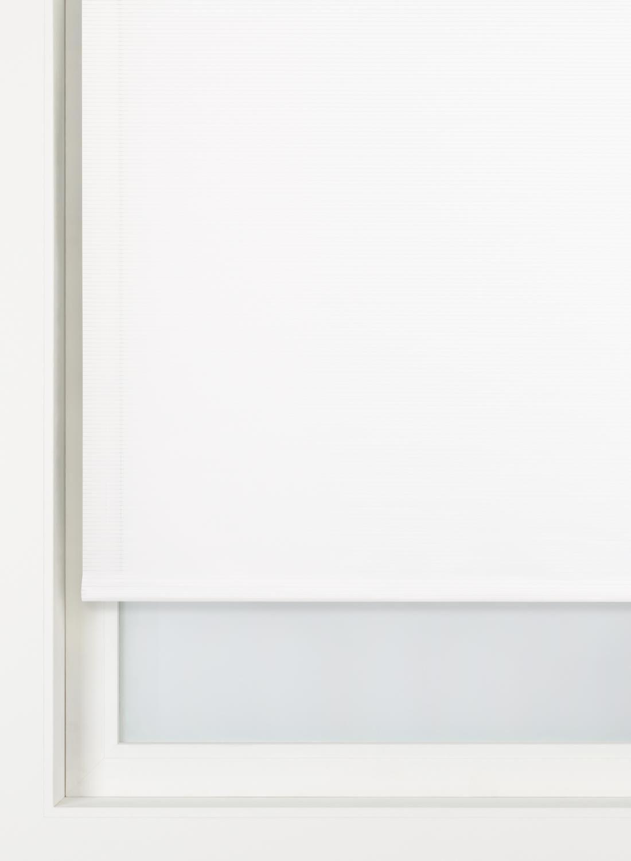 HEMA Rolgordijn Dessin Transparant (wit)
