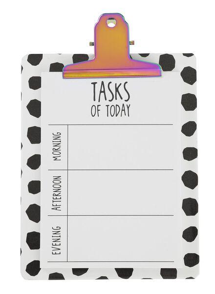 clipbord met dagplanner - 60700176 - HEMA