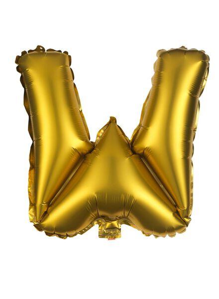 folieballon W - goud - 60800496 - HEMA