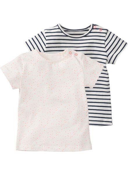 2-pak baby t-shirts multi multi - 1000007342 - HEMA