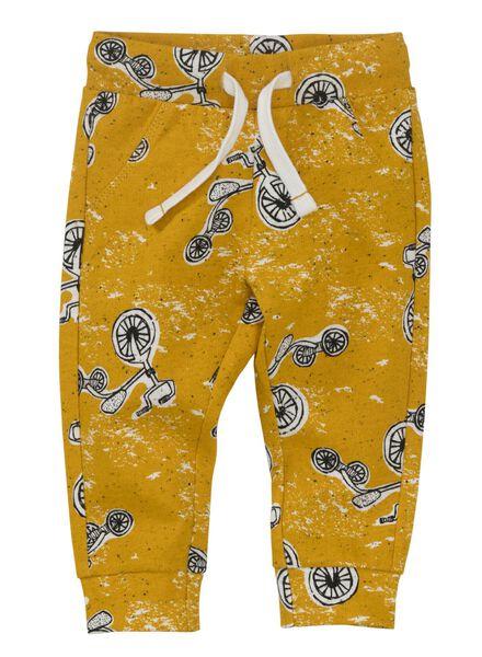 baby sweatbroek geel geel - 1000011044 - HEMA