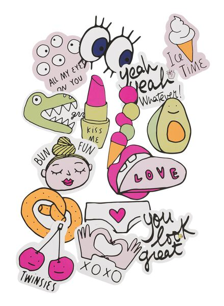 XL stickers - 14588154 - HEMA