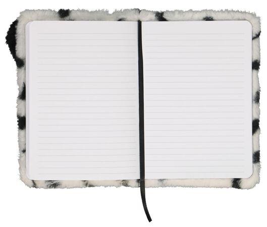 notitieboek A5 fluffy dalmatiër gelinieerd - 14112582 - HEMA