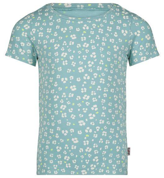 kinder t-shirt blauw 110/116 - 30807538 - HEMA