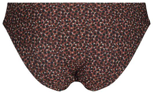 dames bikinibroekje - stippen rood M - 22340122 - HEMA