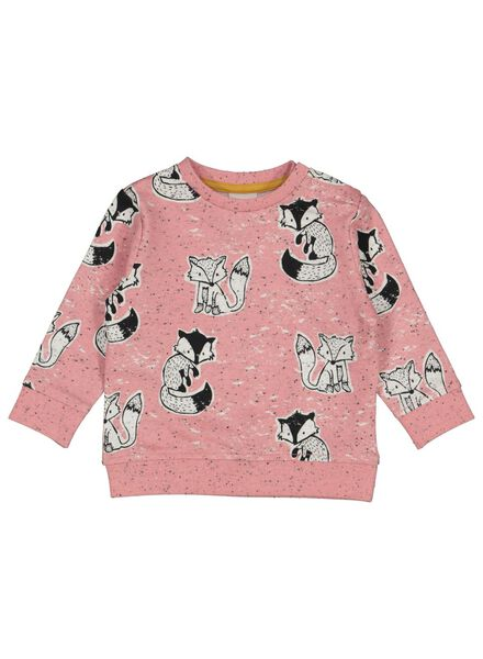 babysweater roze roze - 1000014263 - HEMA