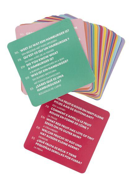 spelletjeskaarten eten - 15110195 - HEMA