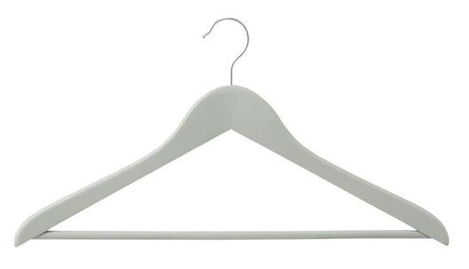 kledinghangers hout grijs - antislip - 3 stuks - 39811022 - HEMA