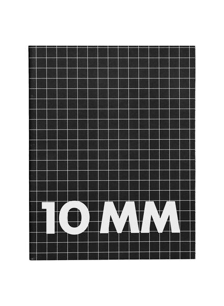 Schriften 16.5 x 21 cm - geruit 10 mm - 3 stuks - in Schriften