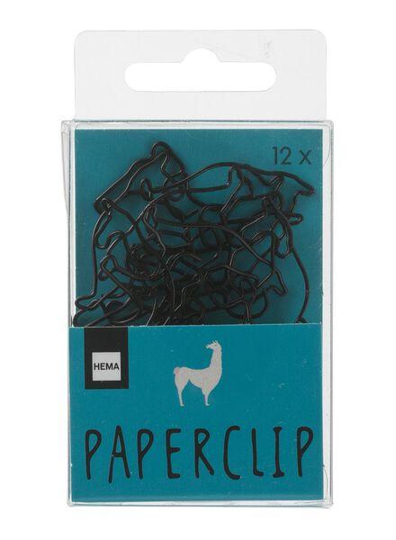 12-pak paperclips - 60700282 - HEMA