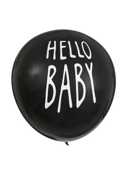 gender onthullingsballon jongen - 14280223 - HEMA