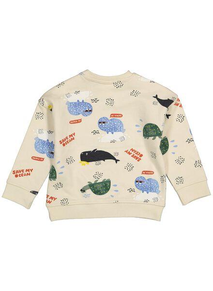 babysweater gebroken wit gebroken wit - 1000014726 - HEMA