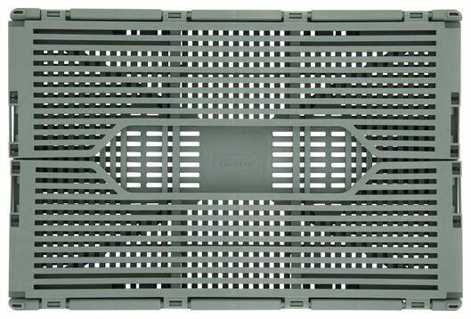 klapkratje letterbord recycled 20x30x11.5 mintgroen - 39811073 - HEMA