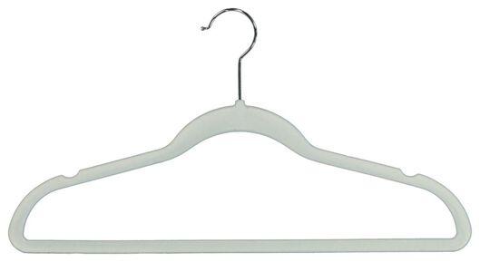 kledinghangers groen velours - 6 stuks - 39820501 - HEMA