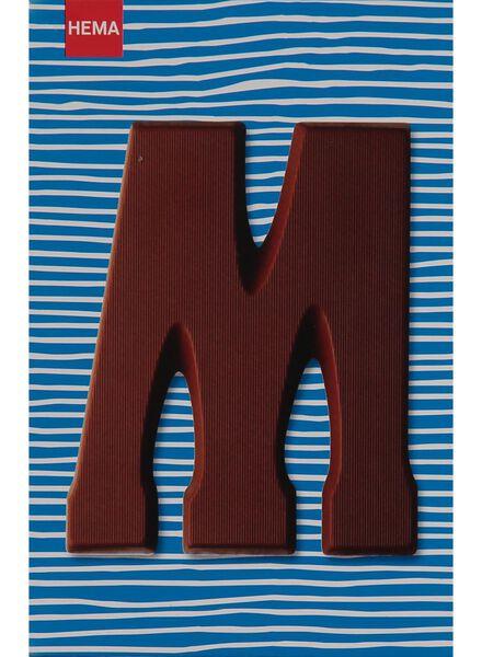 melkchocolade letter M - 10033011 - HEMA