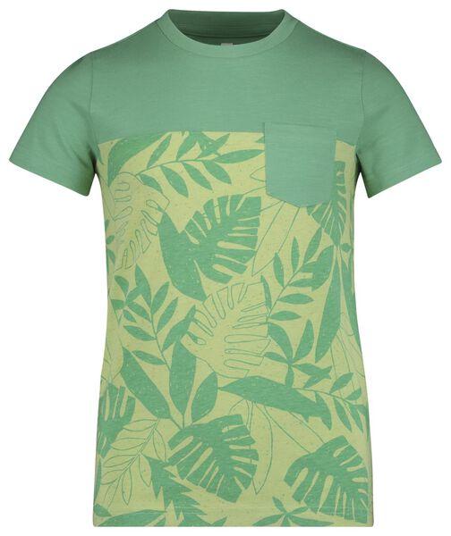 kinder t-shirt groen groen - 1000018855 - HEMA