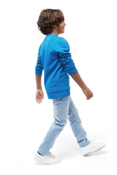 kinder jeans skinny fit lichtblauw 104 - 30765672 - HEMA