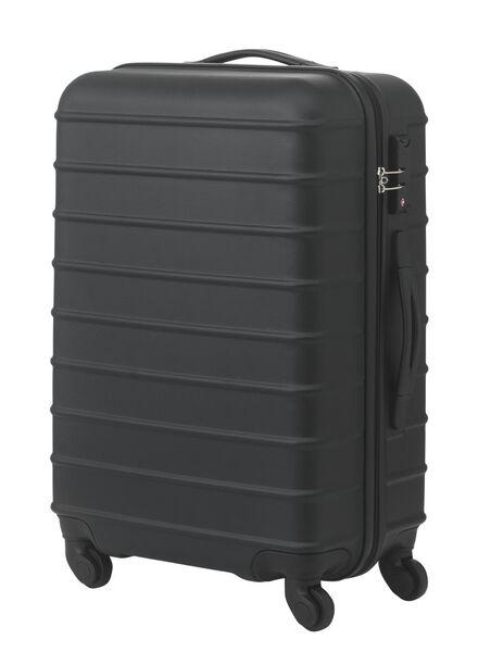 Koffer - 67 x 44 x 25 - zwart streep