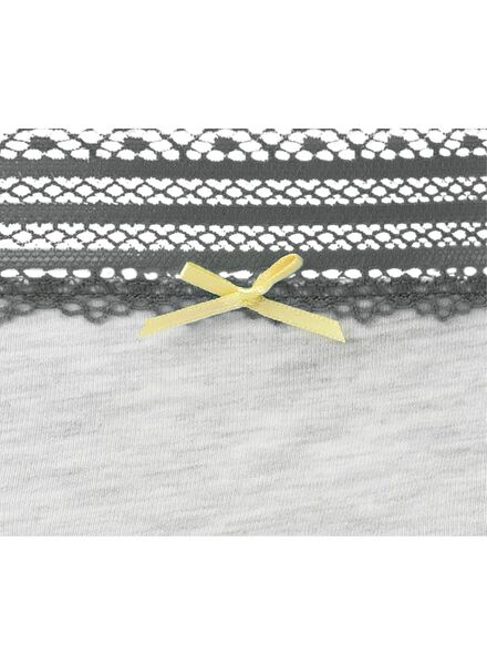 dameshipster grijsmelange grijsmelange - 1000006541 - HEMA