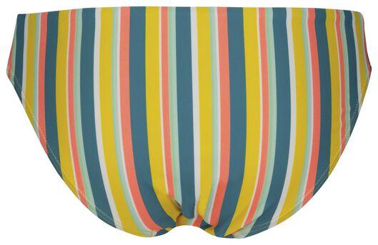 dames bikinibroekje - strepen multicolor S - 22340231 - HEMA