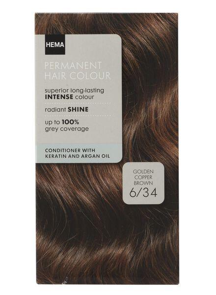 haarkleuring goud koper bruin 6/34 - 11050020 - HEMA