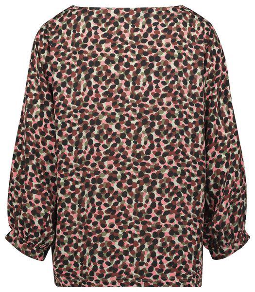 dames top roze S - 36238356 - HEMA