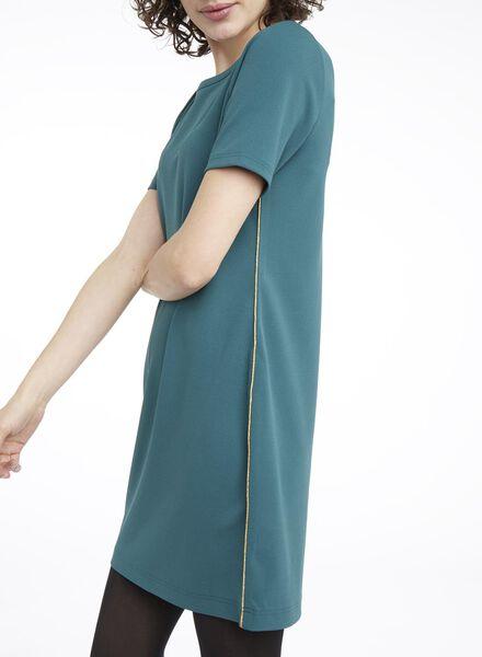 damesjurk groen groen - 1000010699 - HEMA