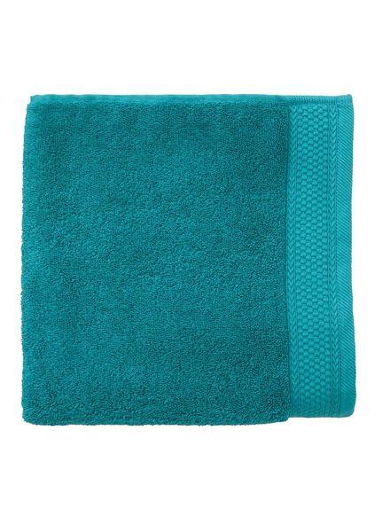 handdoek - 60 x 110 cm - hotel extra zwaar - donkergroen uni - 5280050 - HEMA