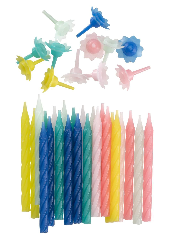 HEMA 24-pak Taartkaarsjes (multicolor)