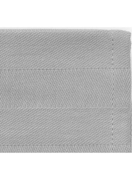 theedoek - 65 x 65 - katoen - lichtgrijs theedoek lichtgrijs - 5440211 - HEMA
