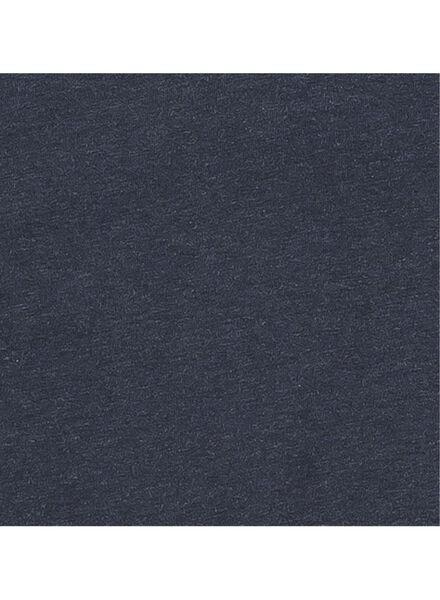 heren t-shirt donkerblauw donkerblauw - 1000006036 - HEMA