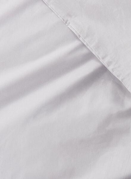 dekbedovertrek - hotel katoen percal - 240 x 220 cm - grijs - 5700111 - HEMA
