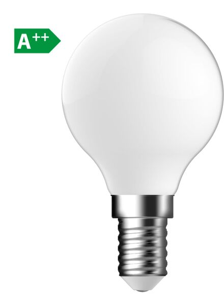 LED matte kogellamp 1,2 watt - kleine fitting - 140 lumen - 20090047 - HEMA