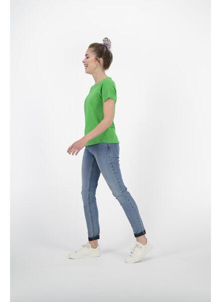 dames t-shirt groen groen - 1000011986 - HEMA