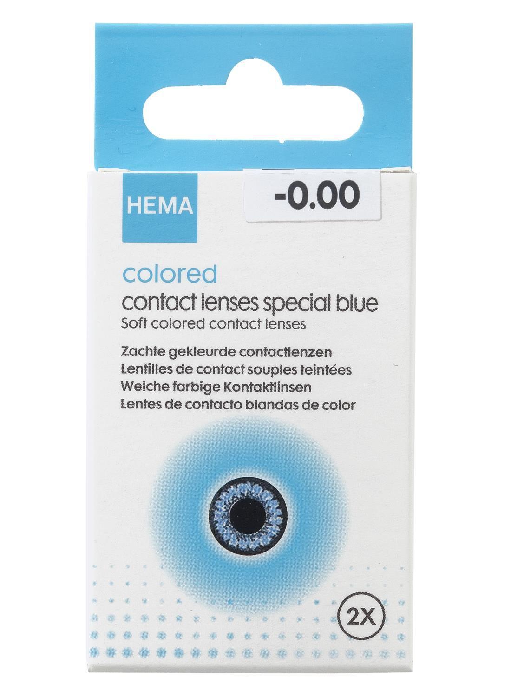 HEMA Gekleurde Lenzen Speciaal (blauw)