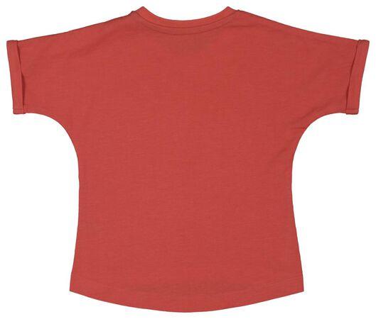 baby t-shirt koraal koraal - 1000018083 - HEMA