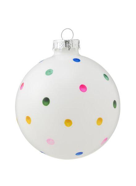 glazen kerstbal - 25100201 - HEMA