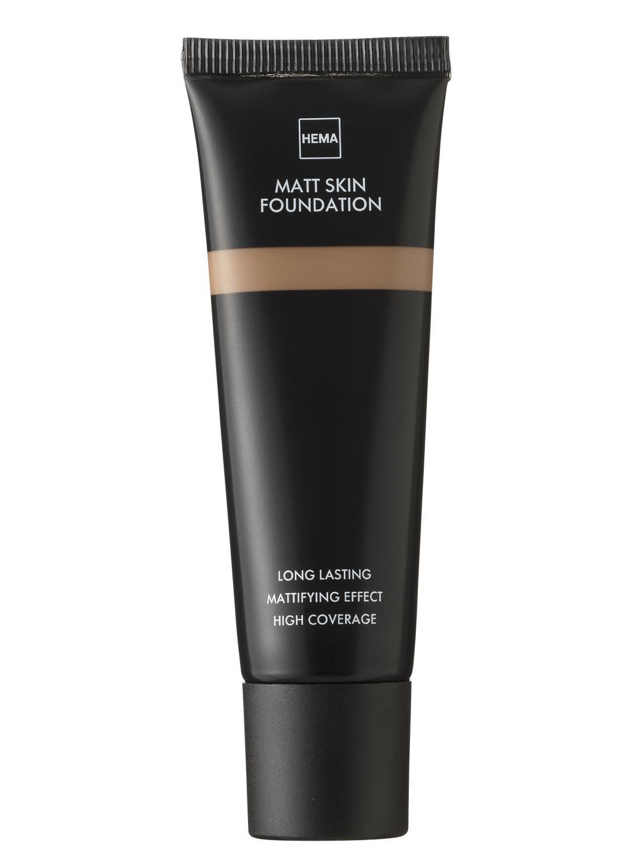 HEMA Matt Skin Foundation Dark 01 (bruin)
