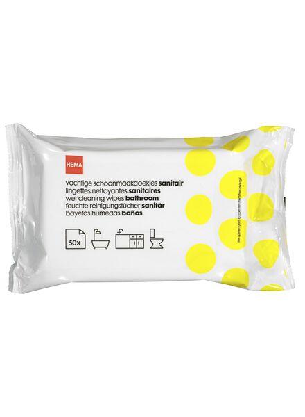 vochtige schoonmaakdoekjes - 50 stuks - 20500105 - HEMA