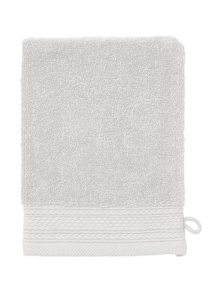 handdoeken - hotelkwaliteit lichtgrijs lichtgrijs - 1000015154 - HEMA