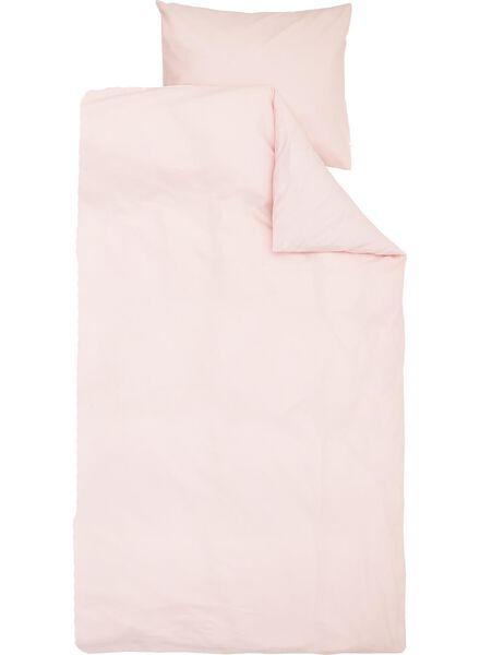 soft cotton dekbedovertrekset 140 x 200/220 cm - 5700179 - HEMA