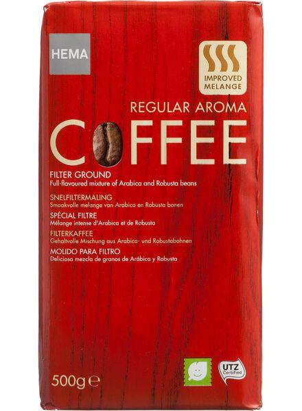 filterkoffie regular - 500 gram - 17100020 - HEMA