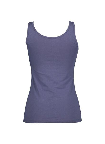 damessinglet blauw blauw - 1000014516 - HEMA
